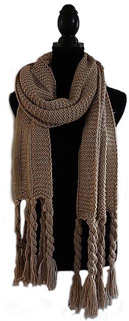 gebreide sjaal   charme deco interieurontwerp