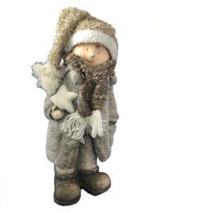 beeld,kind,winter,muts,sjaal,ster