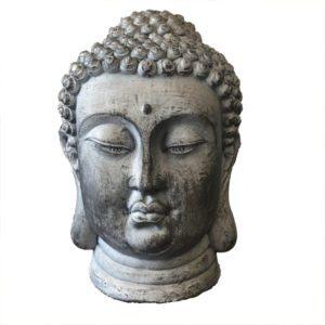 boeddha, donkergrijs, geluk, geschenk