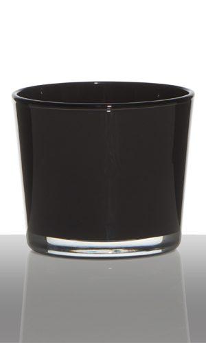 theelicht, waxinelichtje, bruin, glas