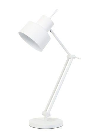 tafellamp bureaulamp wit aluminium